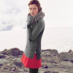 J. Crew Button Side Sweater